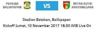Persiba Balikpapan vs Mitra Kukar