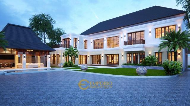 Gaya Villa Bali Tropis