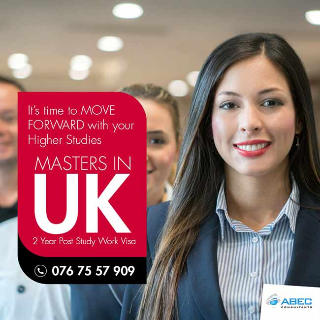 ABEC - Study in UK with 2 Year Work Rights