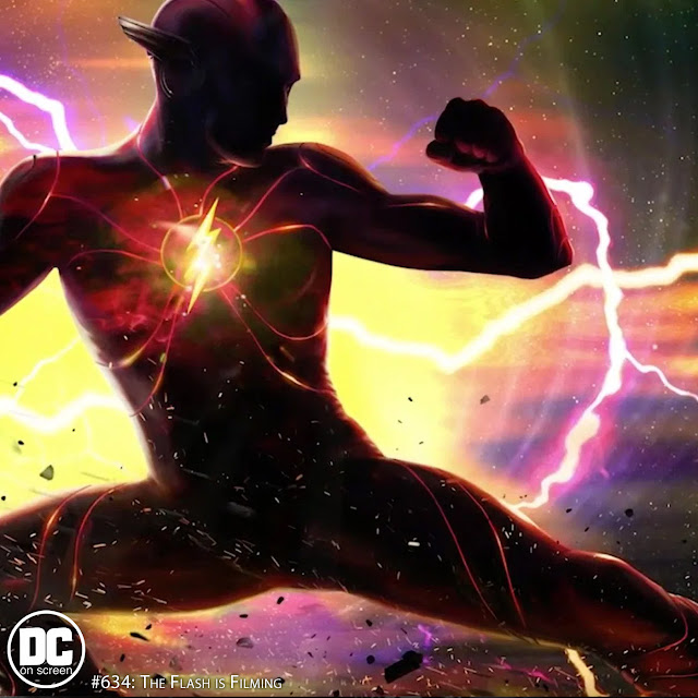The Flash concept art--Text: DC on SCREEN #634: The Flash is Filming