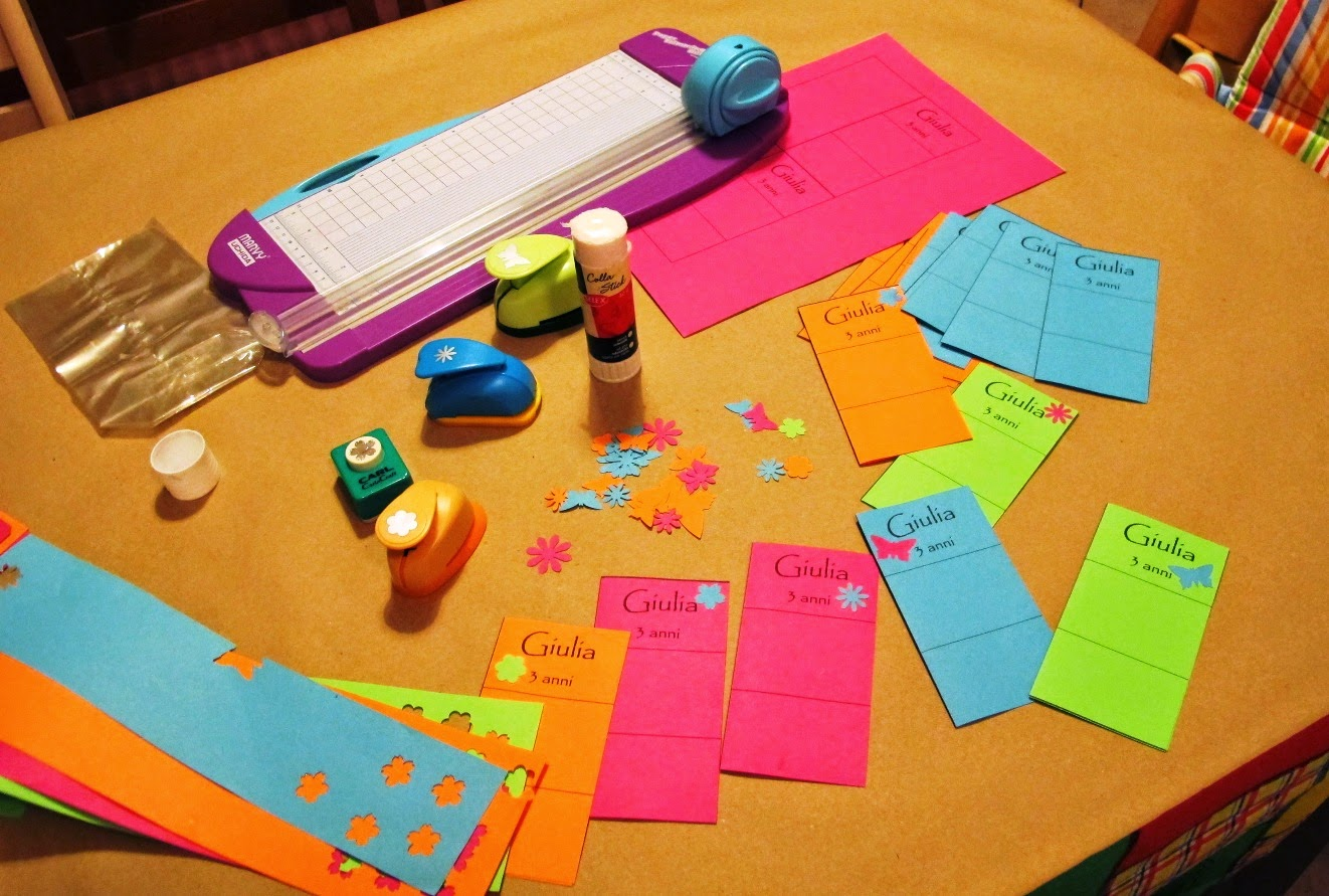 Sacchetti colorati per caramelle