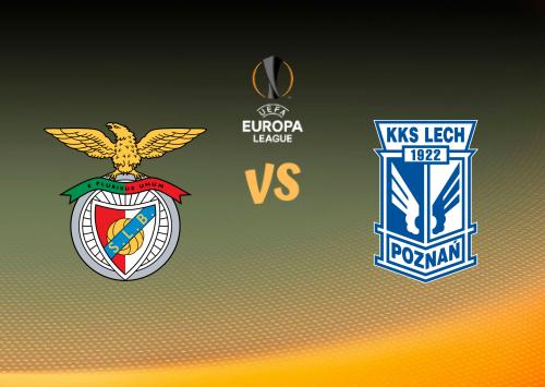 Benfica vs Lech Poznań  Resumen