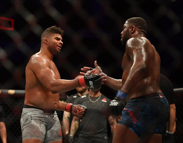 Alistair Overeem Walt Harris Show sportsmanship UFC on ESPN 8