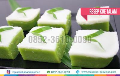 resep kue talam, makanan-minuman.com