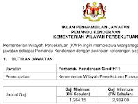 Jawatan Kosong di Kementerian Wilayah Persekutuan KWP