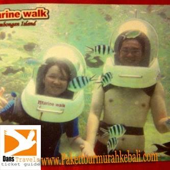 Bali Marine Walk Lembongan - Seawalker Lembongan