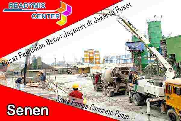 jayamix senen, cor beton jayamix senen, beton jayamix senen, harga jayamix senen, jual jayamix senen
