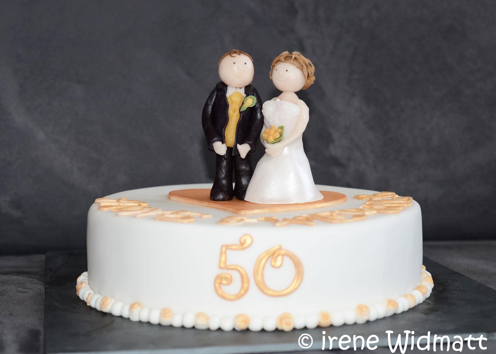 Goldene Hochzeit 50 Jahre Jubiläum Auftragstorte Widmatt