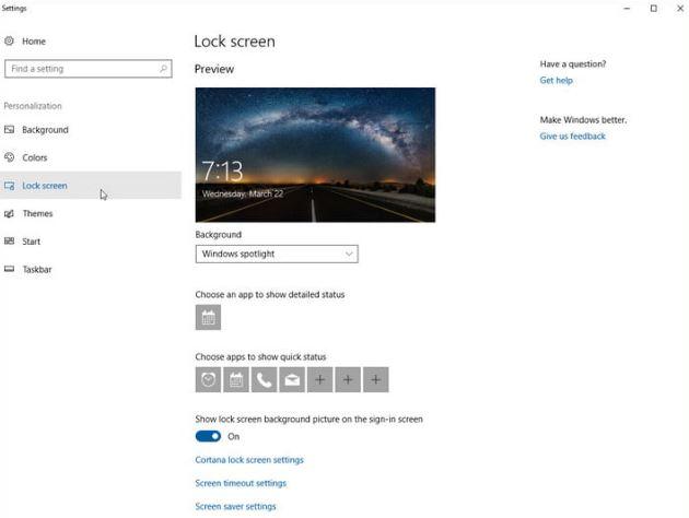 cara mengganti lock screen di windows 10