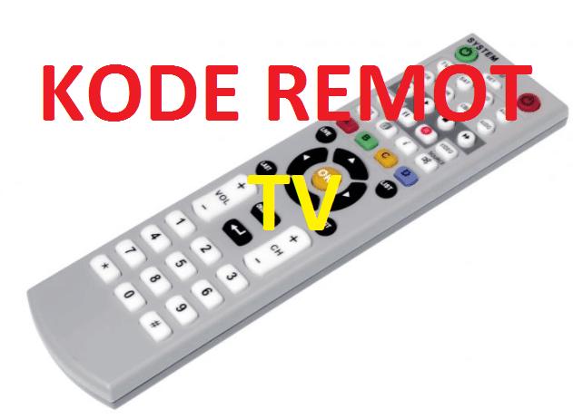 Kode Remot TV