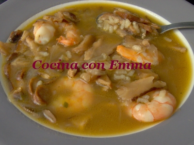 Sopa de shiitake y sabor a mar_13