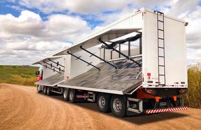 Noma apresenta carreta que quebra paradigmas no Transporte de Biomassa