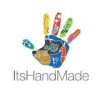 ItsHandMade-Logo Bustina formato segnalibro... Good LuckColore Bianco Colore Verde