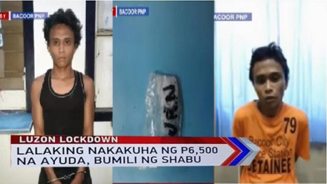 WATCH: Lalaking nakatanggap ng 6k ayuda sa Gobyerno, ginamit pang bili ng Shabu