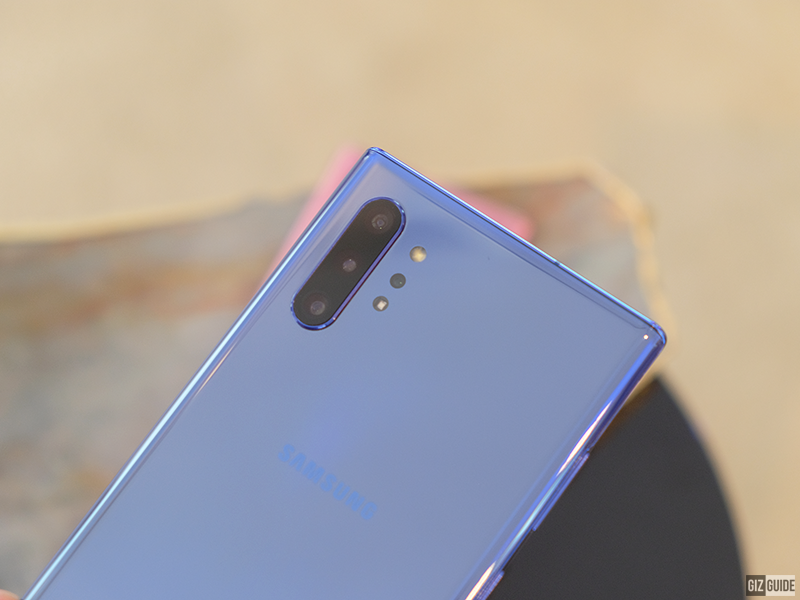Samsung Galaxy Note10+'s rear cameras
