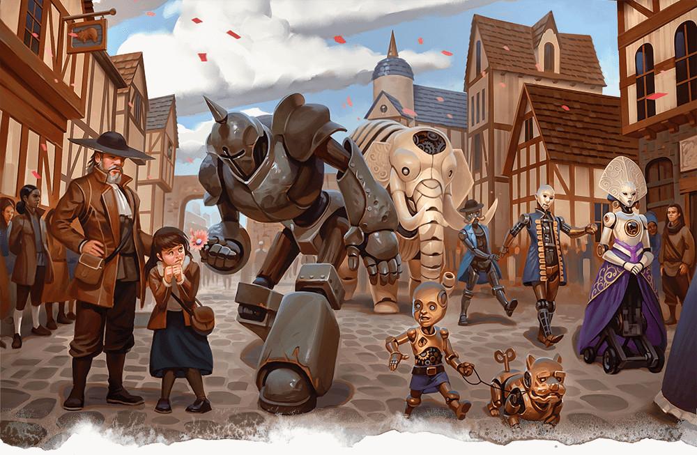 Reseña D&D - Waterdeep: El Golpe de los Dragones - Día de las Maravillas