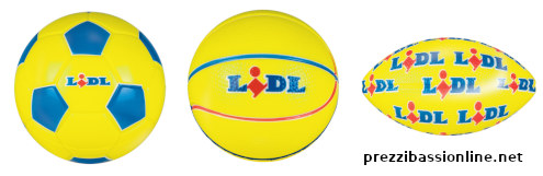 Mini palloni Lidl