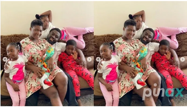 How Mercy Johnson throws a lovely party for her Husband amidst Lockdown