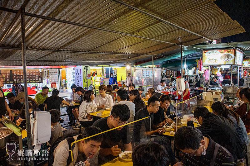 【寧夏夜市美食】牛媽媽沙茶牛肉。六十年老店必吃控肉飯