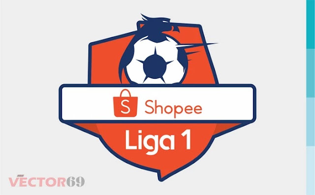 Logo Shopee Liga 1 Indonesia - Download Vector File SVG (Scalable Vector Graphics)