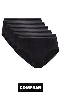 Slip para Hombre Y-Front Color negro
