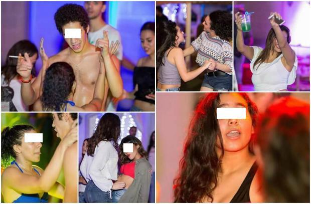 """حفلة """"بول بارتى"""" عارية تماما فى مصر تثير ضجة كبيرة على مواقع التواصل الإجتماعى"""