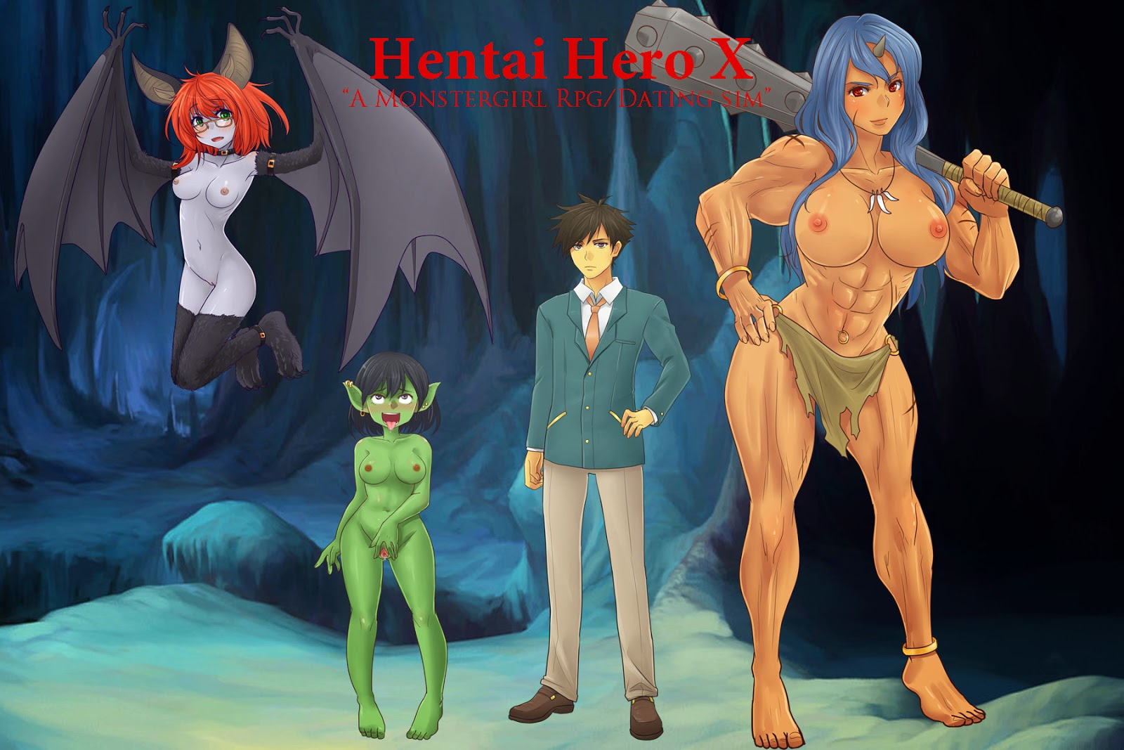 Monster hentai rpg game