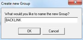 Isikan nama grup yang akan digunakan