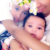 'My babies': Blac Chyna cuddles up to her daughter Dream and son King Cairo