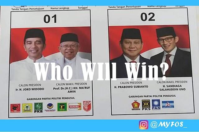 Pilpres 17 April 2019, Siapa yang Bakal Menang?