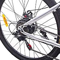 Rear hub on Cyclamatic Power Plus CX1 Electric Mountain Bike