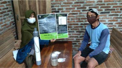 Mahasiswa KKN Undip Ajari Warga Desa Roworejo Membuat Alat Penjernih Air dan Desinfeksi Air