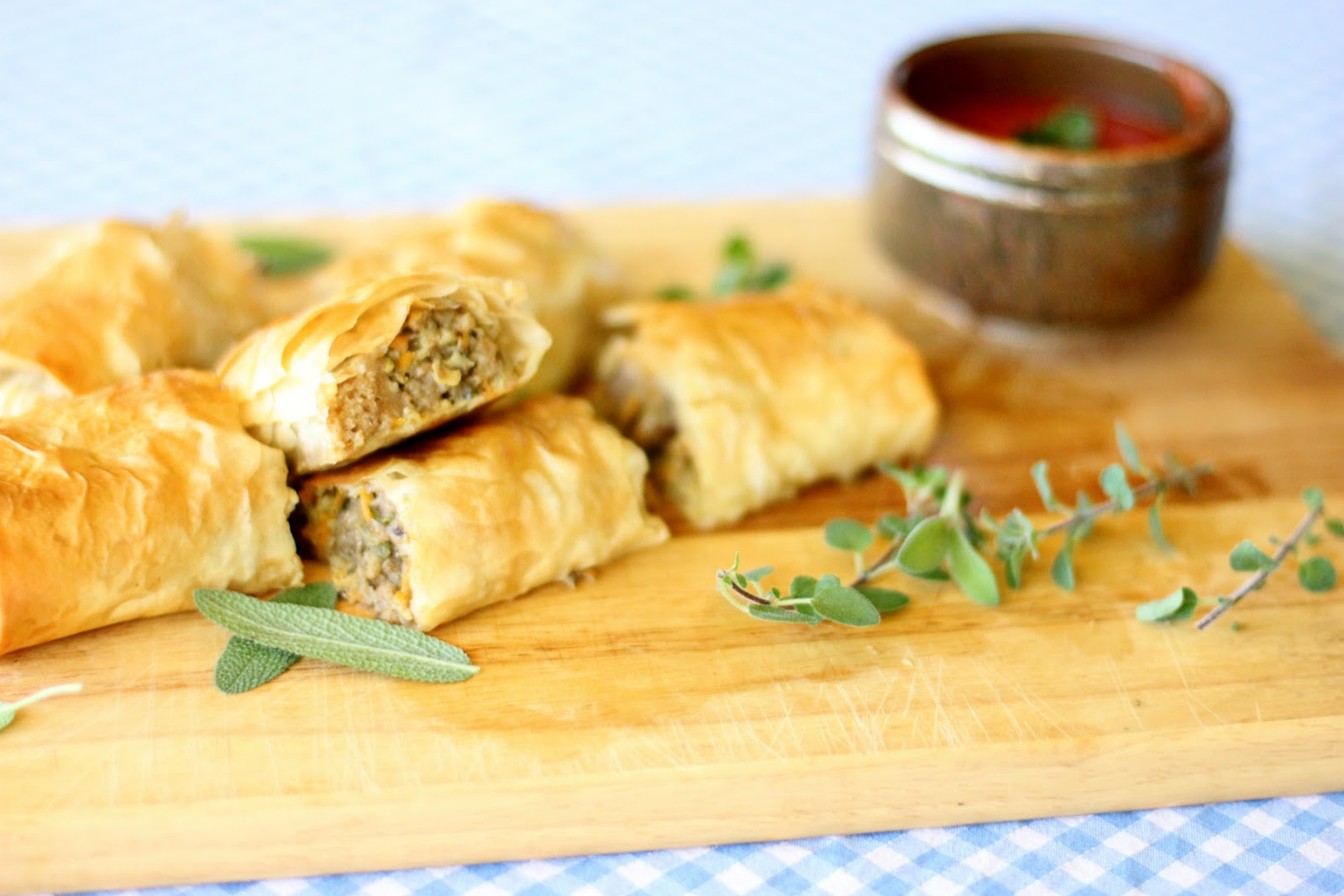 Homemade Sausage Roll Tomato Sauce Recipe Liberty