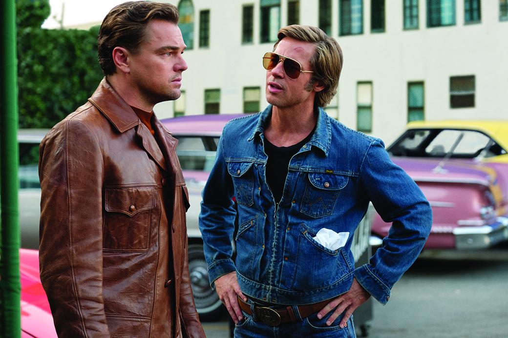 Demode Showroom Erase una vez en Hollywood Quentin Tarantino Leonardo DiCaprio Brad Pitt