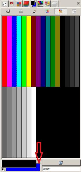 Background Color Sudah Berubah Menjadi Biru