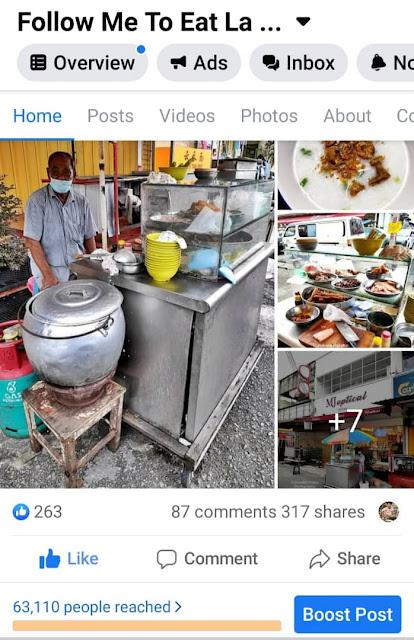 CHEAP EATS RM3 PORRIDGE AT OUG OVERSEAS UNITED GARDEN KUALA LUMPUR