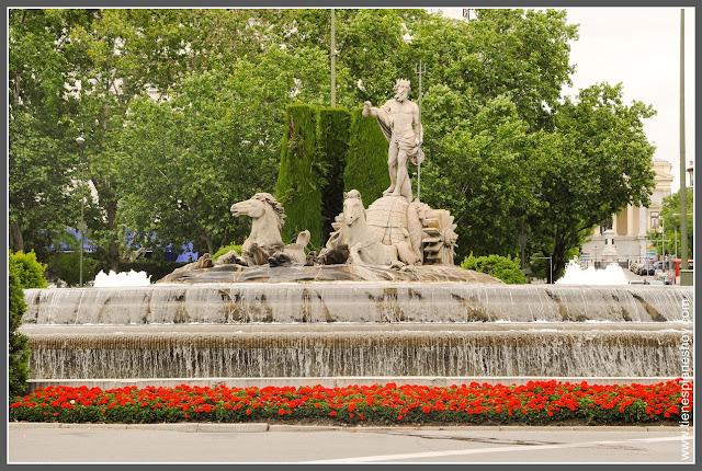 Fuente Neptuno Madrid