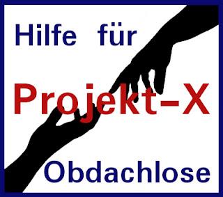 Obdachlosen helfen - Projekt-X