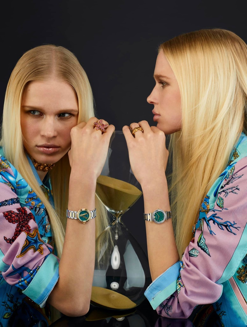 Versace Watches Spring 2021 Campaign