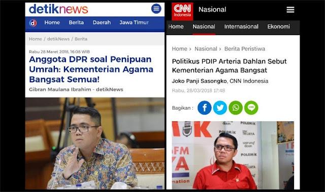 Kronologis Jajaran Kemenag di Daerah sampai Ngadu ke Menteri Lukman, Kesal Politisi PDIP Bilang Bangsat
