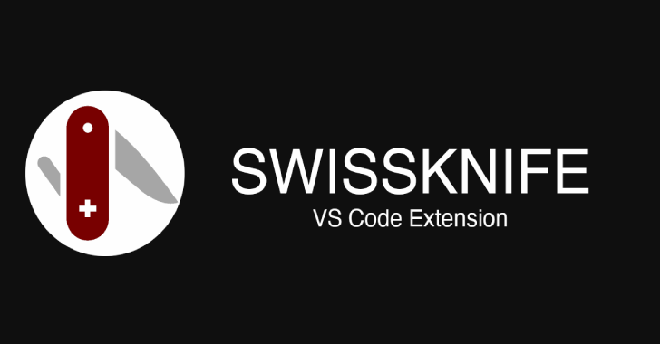 SwissKnife : Scriptable VSCode Extension To Generate Or Manipulate Data