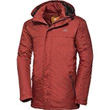 Nordcap Herren Funktionsjacke in Rot, hochwertige Herren-Bekleidung, ultraleichte Herrenjacke, federleichte Outdoor-Jacke, winddicht & atmungsaktiv (Größe: 48 - 60)