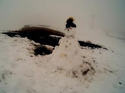 Etna zimą