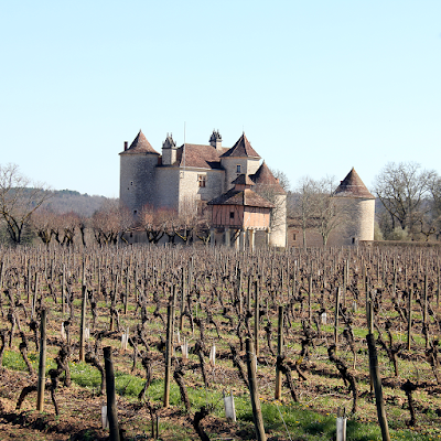 Chateau in the vineyards.