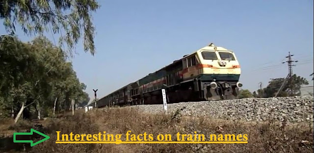 interesting facts on India train names