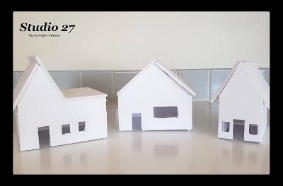 Putz House Tiny Village, last week's most viewed post!