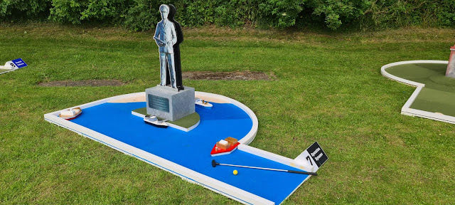 Crazy Golf at Dover Castle. Photo by UrbanCrazy, July 2021