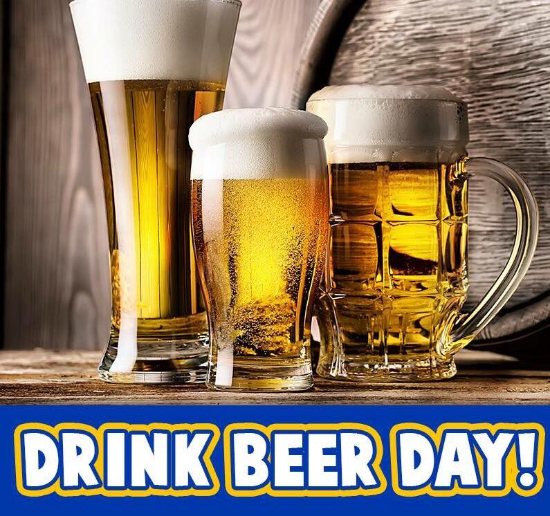 National Drink Beer Day Wishes For Facebook