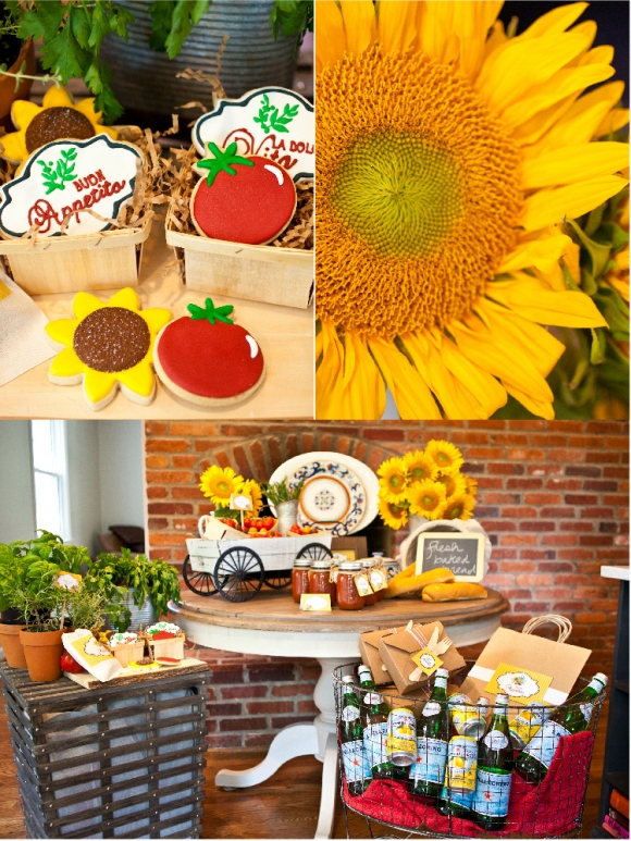 A Taste of Tuscany | An Italian Fall Dinner Party - via BirdsParty.com