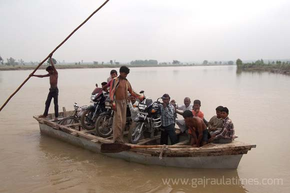 ganga flood warning